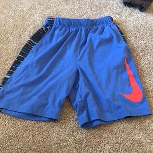 Nike boys workout shorts